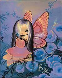 Art: Blue Rose Fairy by Artist Nico Niemi