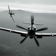 spitfire and mustang