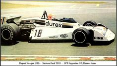 1978 Rupert Keegan, Surtees TS19 - Ford