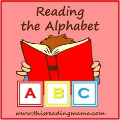 Reading the Alphabet. A program designed for preschoolers who know their letters and sounds and are ready for the next step. $10 version or free version.