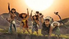 The Croods love that movie