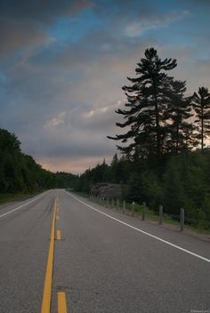 The Lonely Road, Algonquin Provincial Park, Ontario