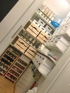 Meine Vorratskammer, Die Ich Der Wortlänge Wegen Immer Pantry Nenne, Sah  Furchtbar Aus. Wenn Ich Einkaufen Ging, Warf Ich Die Lebensmittel Einfach  Lieblos ...