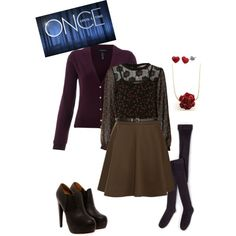 """""""Once Upon a Time: Belle"""" by disneygal15 on Polyvore"""