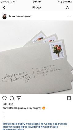 Wedding invite idea