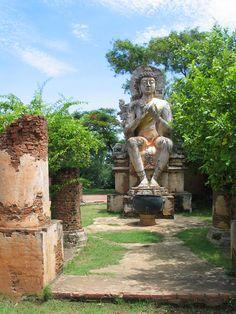 Buddha Dharmacakramboran in Muang Boran