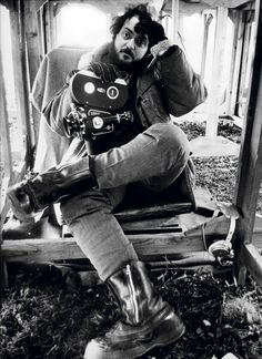 The first and only (as far as we know) Top 10 list Kubrick submitted to anyone was in 1963 to a fledgling American magazine named Cinema (which had been founded the previous year and ceased publication in 1976). |   Stanley Kubrick, photographed by Dmitri Kasterine in 1970 on the set of A Clockwork Orange.