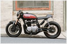 Honda CB 550 -Cognitomoto - Pipeburn - Purveyors of Classic Motorcycles, Cafe Racers & Custom motorbikes