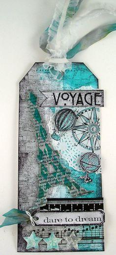 Tag Scrapbooking Paris. Color Teal. Suzz's Stamping Spot. Todo lo que necesitas para scrapbooking y manualidades en mitiendadearte.com 2