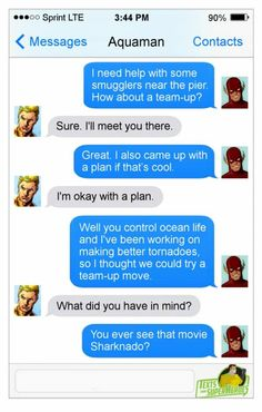 Would You Give Deadpool YOUR Phone Number? Check Out These Hilarious 'Texts From Superheroes' Marvel Funny, Marvel Dc Comics, Funny Comics, Marvel Jokes, Marvel Girls, Deathstroke, Power Girl, Geeks, Superhero Texts