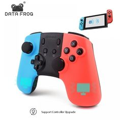 Wireless Bluetooth Game Controller For Nintendo Switch Gamepad Joystick For PC Games Joystick For Android Phone Nintendo Switch Accessories, Gaming Accessories, Xbox One, Frog Games, Zelda, Usb, Game Controller, Video Game Console, Consumer Electronics
