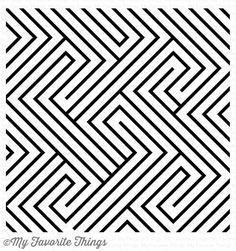 Diagonal Design Background #mftstamps
