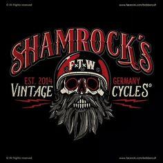 """293 curtidas, 3 comentários - Bobber Cult (@bobbercult) no Instagram: """"Designed for Shamrock's Vintage Cycles #bobbercult"""""""