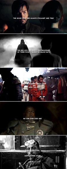 …liar. Rogue One with a quote by Giles from Buffy the Vampire Slayer.
