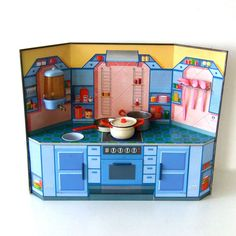 vintage kitchen toy by pukpuk on Etsy, $65.00