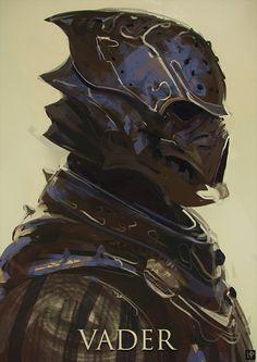 Darth Souls Vader by LennartVerhoeff on DeviantArt #scifi