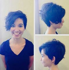 Funky Short Haircuts Styles of