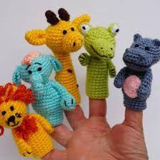 Resultado de imagen para finger puppet free pattern crochet