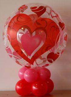Petit centre de table pour la St Valentin #qualatex #balloon #stvalentin #valentinesday
