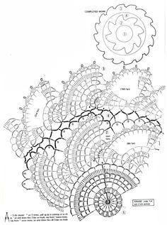 Filet Crochet, Crochet Doily Diagram, Crochet Stitches, Doily Patterns, Crochet Patterns, Mandala, Crochet Dollies, Doilies, Vintage World Maps