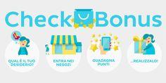 #CheckBonus, l'app che premia la tua voglia di shopping - #mobile