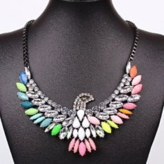 ✨ Host Pick ✨ Colorful Eagle Statement Necklace Beautiful and unique! Jewelry Necklaces