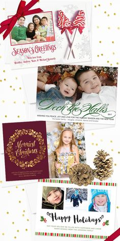 25% off Lemon Leaf Prints holiday cards and invitations… includes Christmas, New Year's Eve, and Hanukkah!