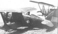 Polikarpov I-15 Chato de la Aviación republicana, pilotado por Francisco Viñals Guarro, con el código CA-030; el código CA indica que este aparato fue fabricado en España.