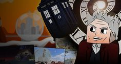 Doctor Who Online Minecraft - Doctor Poster 12th Doctor, Doctor Who, Minecraft Posters, Photographic Prints, Fictional Characters, Art, Art Background, Doctor Who Baby, Kunst