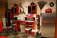 Colorful Garage