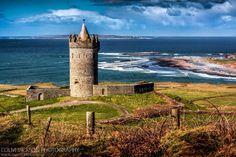 Dunagore Castle. County. Clare. Ireland.   www.colmjackson.com Clare Ireland, County Clare, Jackson, Castle, Water, Photography, Outdoor, Ireland, Gripe Water