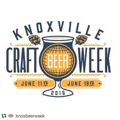 We can NOT wait! Follow @knoxbeerweek keep in the know folks!  #Repost @knoxbeerweek  It's coming! Might as well take these days off work. #KnoxBeer Week runs June 11th through the 19th and ends in @knxbrewfest! #knoxvilletn #ilovelocalknoxville #knoxbeerweek
