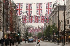Oxford Street Launches Its Great British Fashion Flag Showcase Ahead Of The Diamond Jubilee