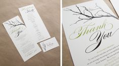 invitations tree design   ... and Jeff in person to go over the details of their invitation designs