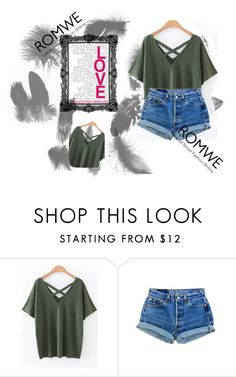 """romwe"" by hana-331 ❤ liked on Polyvore"