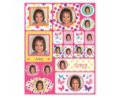 Picture Perfect #Personalized #Sticker - Pink