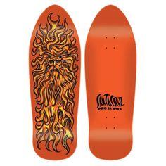 Tavola Skateboard Old School Deck Santa Cruz Jason Jessee Sun God Reissue 9,9  x