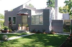 modern take on spanish bungalow