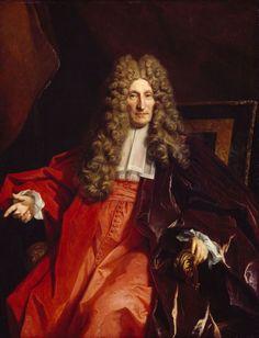 Charles Boucher, Seigneur d'Orsay, magistrat. / By N. de Largillière.