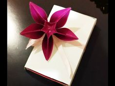 Origami flowers origami papercraft pinterest origami flower awesome decoration for gifts origami flower carambola carmen great ideas for gifts youtube mightylinksfo