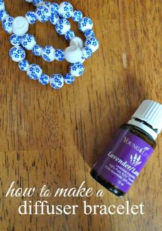 Making your own diffuser jewelry can be very simple - check out this easy project tutorial - how to make a diffuser bracelet.