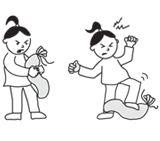 Retrouve ton calme avec le «basbas»: un bricolage pour les grosses colères de votre enfant. Téléchargez et imprimez les instructions.  #enfant #jeux #bricolage
