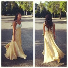 my prom dress but not yellow :)