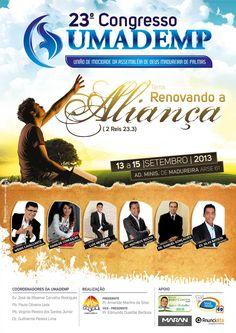 23º Congresso da UMADEMP(União de mocidade da Assembleia de Deus Madureira de Palmas), 2013. Palmas-Tocantins/Brasil. Job realizado pela Agencia Anunciatto.