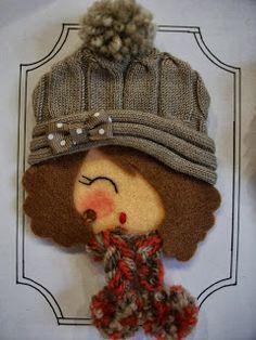 Y con él, los gorritos de lana ¡me encanta esta época del año!