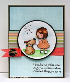 "There She Goes Clear Stamps ""Puppy Love"" stamp set"