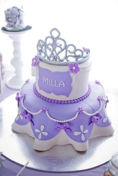 16 Sofia the First Birthday Party Ideas . These 16 Sofia the First Birthday Party Ideas are the perfect inspiration for your royal affair. Get ideas for Sophia The First Birthday Party Ideas, Sofia The First Cake, Princess Sofia The First, Birthday Cake Girls, First Birthday Cakes, First Birthday Parties, First Birthdays, Princess Sophia, 3rd Birthday