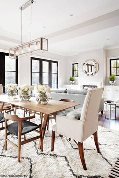 Lovely Centerpieces for Long Dining Room Tables