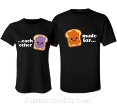 Matching Couple Shirts - Made For Each Other
