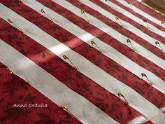 Anna Orduña - Mi Rincón de Patchwork: Tutorial: Acolchar líneas rectas Costura Diy, Pattern Fashion, Patches, Quilts, Art, Patterns, Dress, Tela, Felt